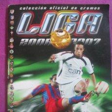 Collezionismo sportivo: ALBUM CROMOS FUTBOL CAMPEONATO LIGA 2006-2007 ESTE TIENE 363 Y 48 FICHAJES LEER DESCRIPCION B. Lote 198080400