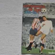 Coleccionismo deportivo: ALBUM DISGRA 1972-73 CAMPEONATO DE LIGA CON 116 CROMOS 27 PEGADOS Y 87 NUNCA PEGADOS + POSTER. Lote 198290972