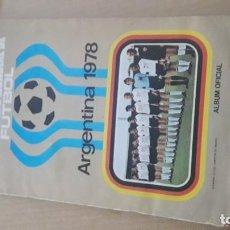 Coleccionismo deportivo: ALBUM DE ARGENTINA 78 DE RUIZ ROMERO. Lote 198931911