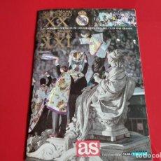 Coleccionismo deportivo: COLECCION REAL MADRID S.XX AL REAL MADRID S.XXI FUTBOL PERIODICO AS ALBUM VACIO EDITADA AÑO 2000. Lote 199425015