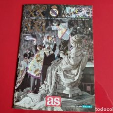 Coleccionismo deportivo: COLECCION REAL MADRID S.XX AL REAL MADRID S.XXI FUTBOL PERIODICO AS EDITADA AÑO 2000. Lote 199425095