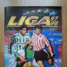 Coleccionismo deportivo: ÁLBUM DE CROMOS FÚTBOL INCOMPLETO EDICIONES ESTE LIGA 97 98 1997-98 363 CROMOS. Lote 199494221