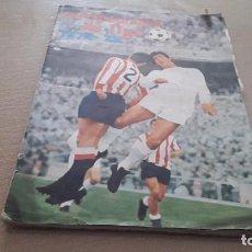 Coleccionismo deportivo: ALBUM DE LA LIGA 1972-73 DE FHER VACIO PERO CON CROMOS DE POSTER CENTRAL . Lote 199507417