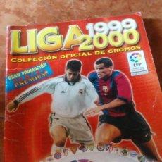 Coleccionismo deportivo: LIGA 1999 2000, ALBUM DE CROMOS DE FÚTBOL PANINI CON MAS DE 300 CROMOS DE LOS 380.. Lote 199633315