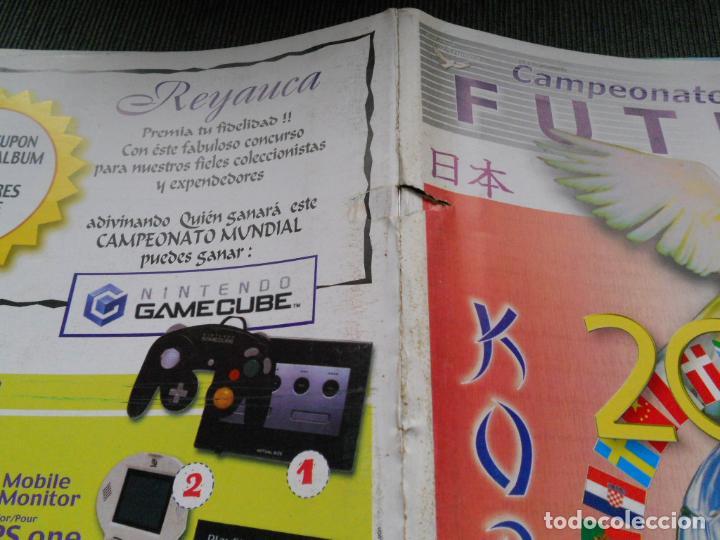 Coleccionismo deportivo: DEFECTOS ALBUM VACIO PLANCHA SIN CROMOS FIFA WORLD CUP KOREA JAPAN 2002 COREA JAPON 02 REYAUCA - Foto 3 - 200041433