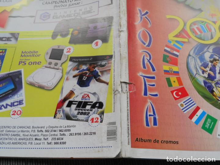 Coleccionismo deportivo: DEFECTOS ALBUM VACIO PLANCHA SIN CROMOS FIFA WORLD CUP KOREA JAPAN 2002 COREA JAPON 02 REYAUCA - Foto 4 - 200041433