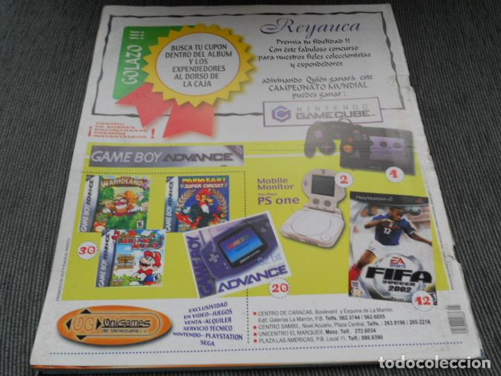 Coleccionismo deportivo: DEFECTOS ALBUM VACIO PLANCHA SIN CROMOS FIFA WORLD CUP KOREA JAPAN 2002 COREA JAPON 02 REYAUCA - Foto 10 - 200041433