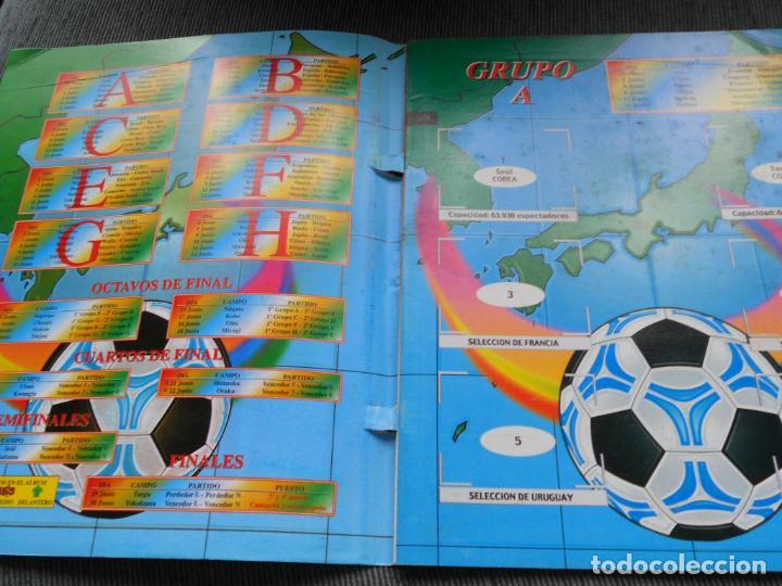 Coleccionismo deportivo: DEFECTOS ALBUM VACIO PLANCHA SIN CROMOS FIFA WORLD CUP KOREA JAPAN 2002 COREA JAPON 02 REYAUCA - Foto 13 - 200041433