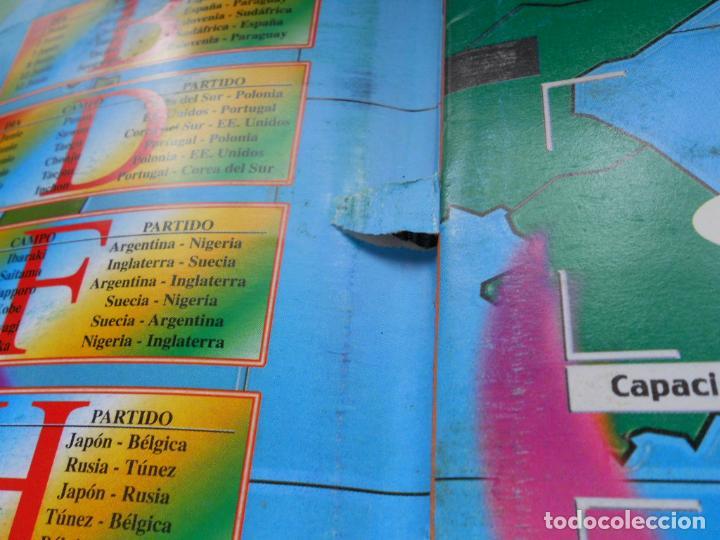 Coleccionismo deportivo: DEFECTOS ALBUM VACIO PLANCHA SIN CROMOS FIFA WORLD CUP KOREA JAPAN 2002 COREA JAPON 02 REYAUCA - Foto 15 - 200041433