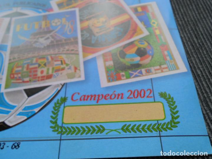 Coleccionismo deportivo: DEFECTOS ALBUM VACIO PLANCHA SIN CROMOS FIFA WORLD CUP KOREA JAPAN 2002 COREA JAPON 02 REYAUCA - Foto 18 - 200041433