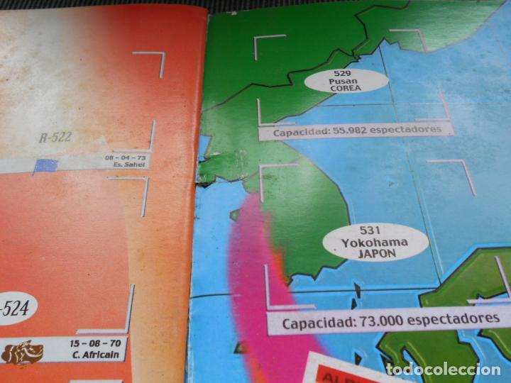 Coleccionismo deportivo: DEFECTOS ALBUM VACIO PLANCHA SIN CROMOS FIFA WORLD CUP KOREA JAPAN 2002 COREA JAPON 02 REYAUCA - Foto 21 - 200041433