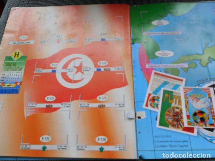 Coleccionismo deportivo: DEFECTOS ALBUM VACIO PLANCHA SIN CROMOS FIFA WORLD CUP KOREA JAPAN 2002 COREA JAPON 02 REYAUCA - Foto 22 - 200041433