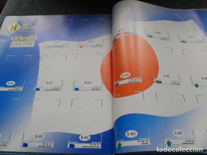 Coleccionismo deportivo: DEFECTOS ALBUM VACIO PLANCHA SIN CROMOS FIFA WORLD CUP KOREA JAPAN 2002 COREA JAPON 02 REYAUCA - Foto 23 - 200041433