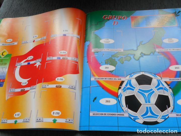 Coleccionismo deportivo: DEFECTOS ALBUM VACIO PLANCHA SIN CROMOS FIFA WORLD CUP KOREA JAPAN 2002 COREA JAPON 02 REYAUCA - Foto 25 - 200041433