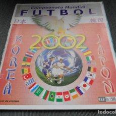 Coleccionismo deportivo: DEFECTOS ALBUM VACIO PLANCHA SIN CROMOS FIFA WORLD CUP KOREA JAPAN 2002 COREA JAPON 02 REYAUCA. Lote 200041433