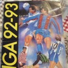 Coleccionismo deportivo: ALBUM FUTBOL LIGA ESTE 92 93. Lote 200242956