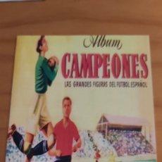 Coleccionismo deportivo: ALBUM CAMOEONES 50 51 SEGUNDA DIVISION BRUGUERA REPLICA. Lote 200564505