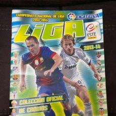 Coleccionismo deportivo: ÁLBUM CROMOS LIGA ESTE 2013/14. Lote 200770275