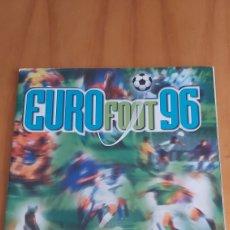Coleccionismo deportivo: ALBUM EUROFOOT 96 DS INCOMPLETO. Lote 201216521