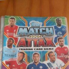 Coleccionismo deportivo: ALBUM MATCH ATTAX 14 15 16 17 18 19. Lote 201327063