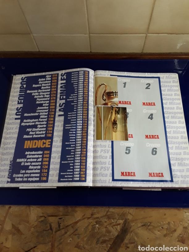 Coleccionismo deportivo: El libro de los campeones de Europa con sus pegatinas (falta alguna) - Foto 2 - 201961675