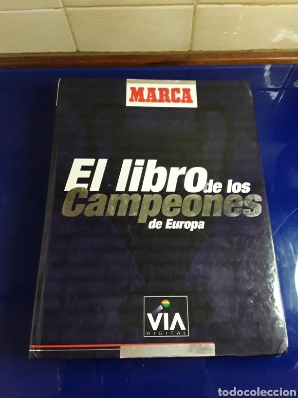 EL LIBRO DE LOS CAMPEONES DE EUROPA CON SUS PEGATINAS (FALTA ALGUNA) (Coleccionismo Deportivo - Álbumes y Cromos de Deportes - Álbumes de Fútbol Incompletos)
