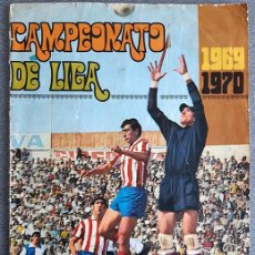 Coleccionismo deportivo: ALBUM 1969 DISGRA FHER LIGA 69 70 1969 1970. FALTAN 44 CROMOS DE 304. Lote 202249800