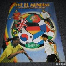 Coleccionismo deportivo: ALBUM VACIO PLANCHA SIN CROMOS FIFA WORLD CUP GERMANY 2006 MUNDIAL ALEMANIA REYAUCA. Lote 202964335