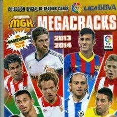 Coleccionismo deportivo: ALBUM MEGACRACKS 2013-14 DE PANINI. Lote 202971960