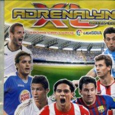 Coleccionismo deportivo: ALBUM ADRENALYN 2011-12 DE PANINI. Lote 202973392