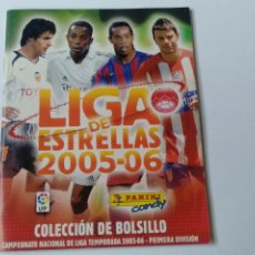 Coleccionismo deportivo: LOTE LIGA DE ESTRELLAS 2005/06 CHICLES. Lote 202987783