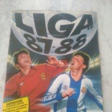 Coleccionismo deportivo: ALBUM DE FUTBOL LIGA 87-88 ( FALTAN 3 CROMOS).. Lote 204066622