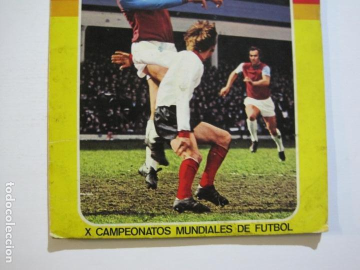Coleccionismo deportivo: MUNICH 74-ALBUM DE FUTBOL CASI COMPLETO-FALTA 1 CROMO-FHER-TARJETA COCA COLA-VER FOTOS-(V-20.024) - Foto 3 - 204319305