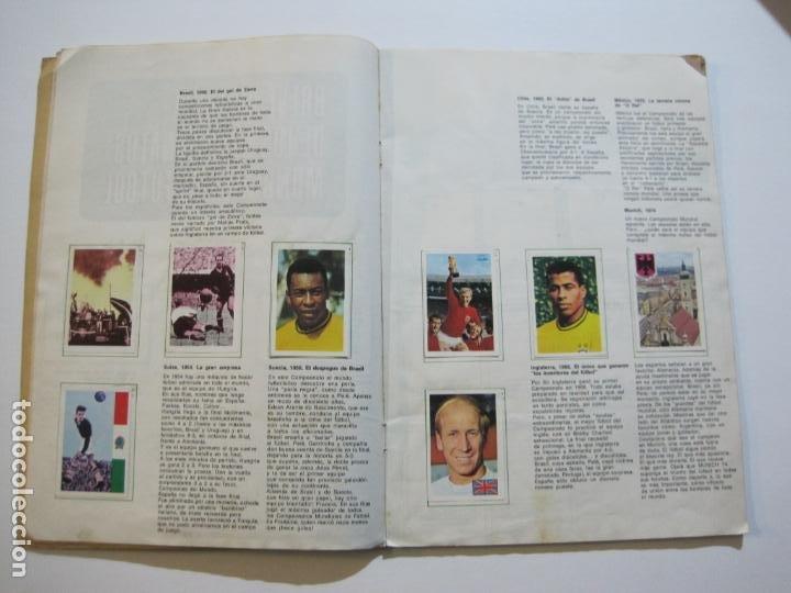 Coleccionismo deportivo: MUNICH 74-ALBUM DE FUTBOL CASI COMPLETO-FALTA 1 CROMO-FHER-TARJETA COCA COLA-VER FOTOS-(V-20.024) - Foto 11 - 204319305