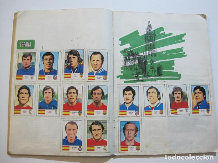 Coleccionismo deportivo: MUNICH 74-ALBUM DE FUTBOL CASI COMPLETO-FALTA 1 CROMO-FHER-TARJETA COCA COLA-VER FOTOS-(V-20.024) - Foto 12 - 204319305