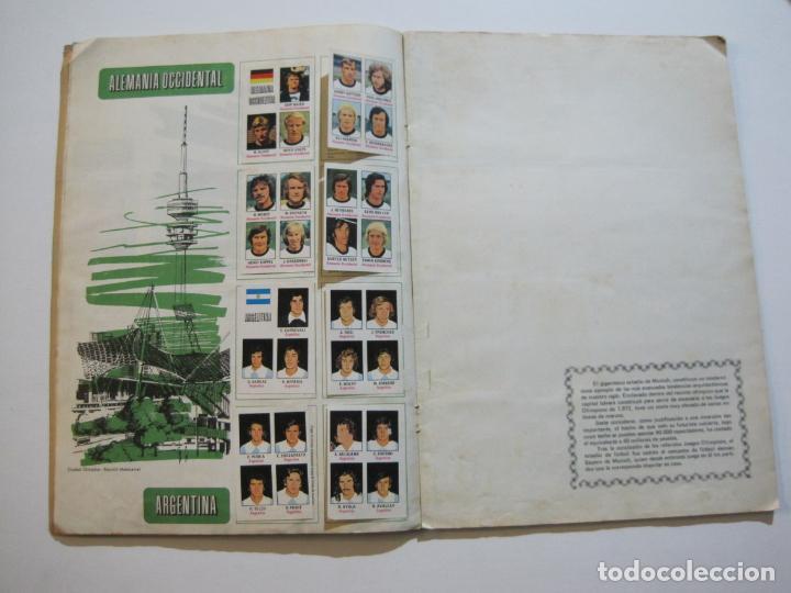 Coleccionismo deportivo: MUNICH 74-ALBUM DE FUTBOL CASI COMPLETO-FALTA 1 CROMO-FHER-TARJETA COCA COLA-VER FOTOS-(V-20.024) - Foto 13 - 204319305