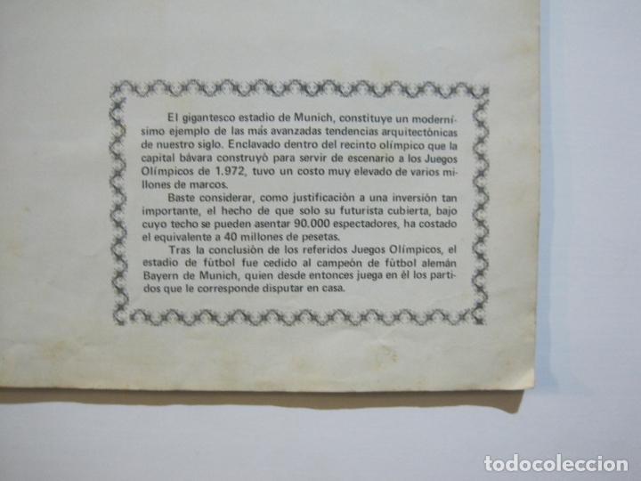 Coleccionismo deportivo: MUNICH 74-ALBUM DE FUTBOL CASI COMPLETO-FALTA 1 CROMO-FHER-TARJETA COCA COLA-VER FOTOS-(V-20.024) - Foto 14 - 204319305