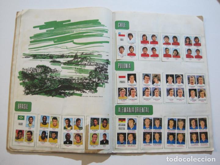 Coleccionismo deportivo: MUNICH 74-ALBUM DE FUTBOL CASI COMPLETO-FALTA 1 CROMO-FHER-TARJETA COCA COLA-VER FOTOS-(V-20.024) - Foto 17 - 204319305