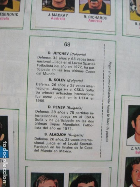 Coleccionismo deportivo: MUNICH 74-ALBUM DE FUTBOL CASI COMPLETO-FALTA 1 CROMO-FHER-TARJETA COCA COLA-VER FOTOS-(V-20.024) - Foto 19 - 204319305