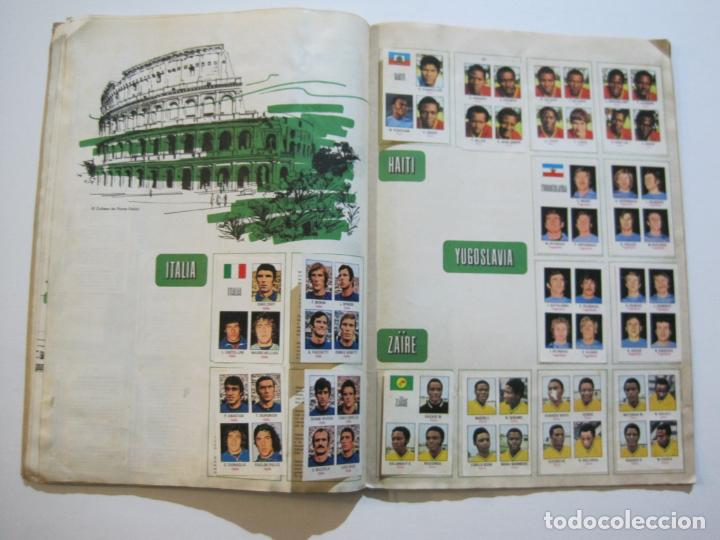 Coleccionismo deportivo: MUNICH 74-ALBUM DE FUTBOL CASI COMPLETO-FALTA 1 CROMO-FHER-TARJETA COCA COLA-VER FOTOS-(V-20.024) - Foto 20 - 204319305