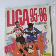 Coleccionismo deportivo: LIGA 95 96-ALBUM DE FUTBOL INCOMPLETO-PANINI-TEMPORADA 1995 1996-VER FOTOS-(V-20.043). Lote 204337652
