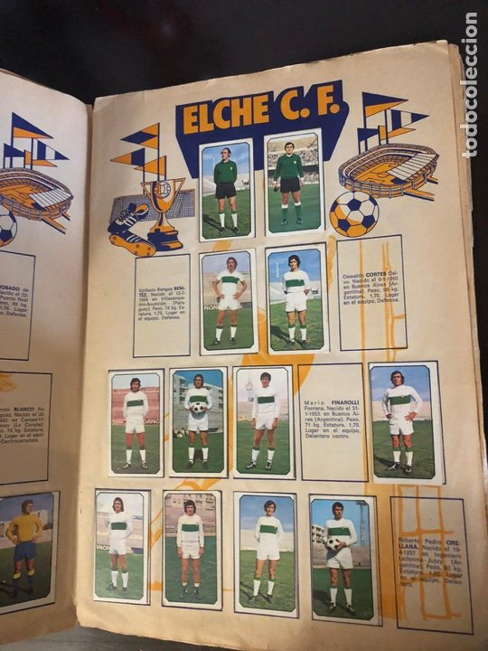 Coleccionismo deportivo: ALBUM DE FUTBOL - LIGA 1977 - 1978 - PRIMERA DIVISION - INCOMPLETO - ALBUM ESTE - Foto 3 - 204330268