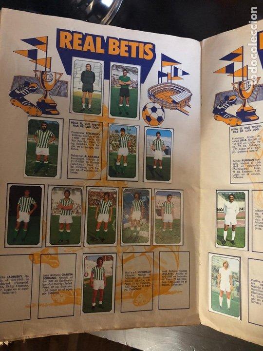 Coleccionismo deportivo: ALBUM DE FUTBOL - LIGA 1977 - 1978 - PRIMERA DIVISION - INCOMPLETO - ALBUM ESTE - Foto 8 - 204330268
