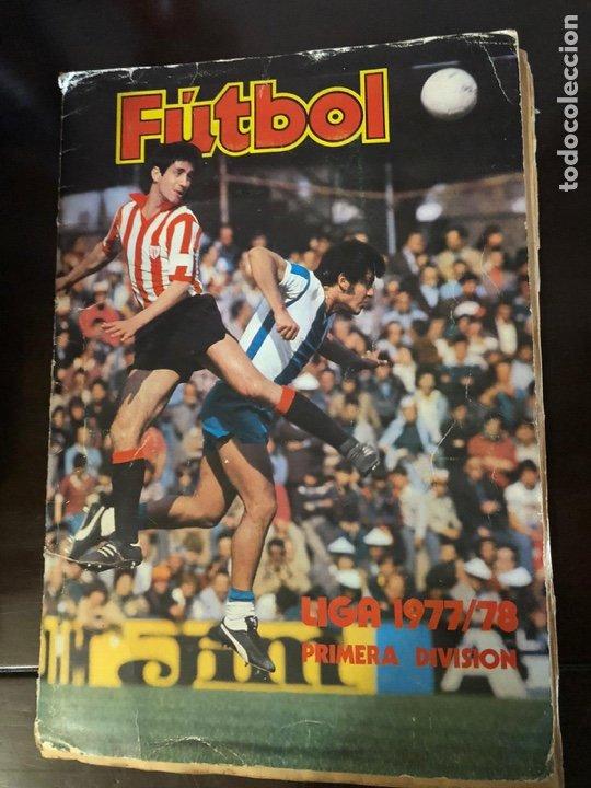 ALBUM DE FUTBOL - LIGA 1977 - 1978 - PRIMERA DIVISION - INCOMPLETO - ALBUM ESTE (Coleccionismo Deportivo - Álbumes y Cromos de Deportes - Álbumes de Fútbol Incompletos)