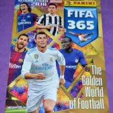 Coleccionismo deportivo: ÁLBUM FIFA 365. GOLDEN WORLD FOOTBALL. PANINI. NUEVO. VACÍO. TRAÍDO DE FRANCIA. FÚTBOL.. Lote 204633103