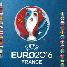 Coleccionismo deportivo: ALBUM UEFA EURO 2016 FRANCIA CON 53 CROMOS. Lote 204694768