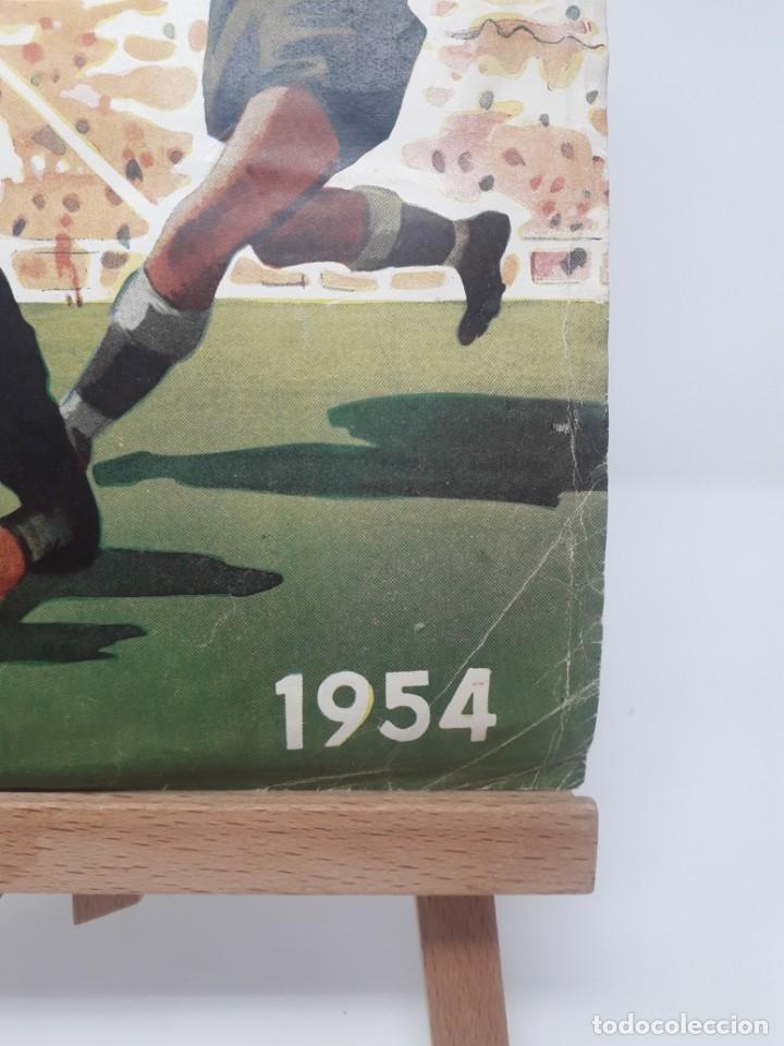 Coleccionismo deportivo: Albúm de Fútbol Campeonatos Nacionales de Fútbol 1954 Incompleto (faltan 49 de 306 números) - Foto 2 - 204800851