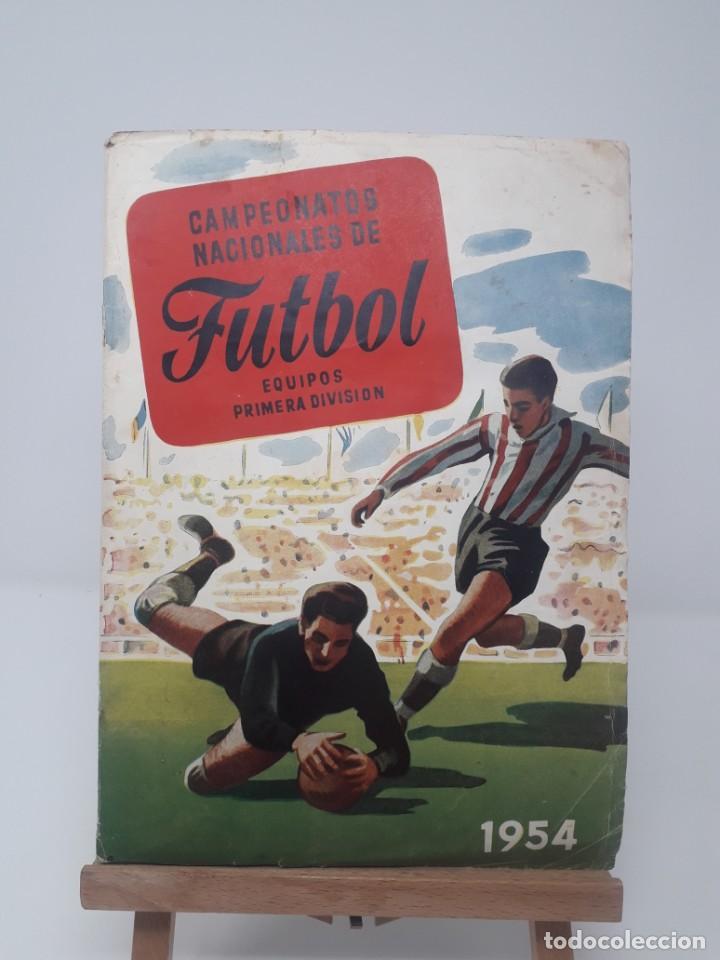 Coleccionismo deportivo: Albúm de Fútbol Campeonatos Nacionales de Fútbol 1954 Incompleto (faltan 49 de 306 números) - Foto 3 - 204800851