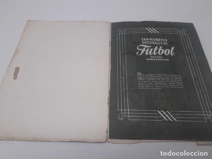 Coleccionismo deportivo: Albúm de Fútbol Campeonatos Nacionales de Fútbol 1954 Incompleto (faltan 49 de 306 números) - Foto 5 - 204800851