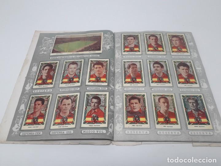Coleccionismo deportivo: Albúm de Fútbol Campeonatos Nacionales de Fútbol 1954 Incompleto (faltan 49 de 306 números) - Foto 7 - 204800851